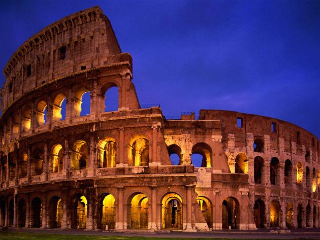 A Colosseum, ahogy megszoktuk...