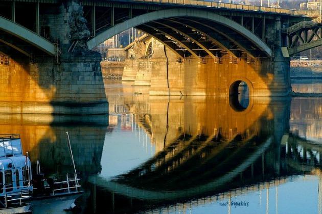 Gyukics Péter: Margit-híd