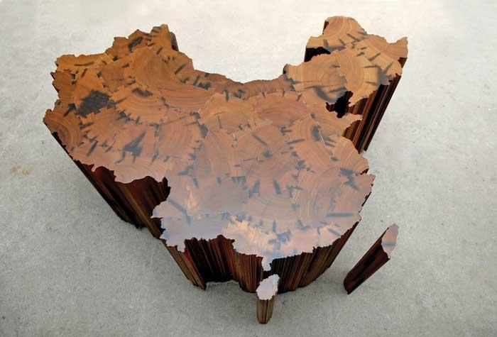 Aj Vej-vej Kínai térképe, 2006 (Fotó: theartnewspaper.com)