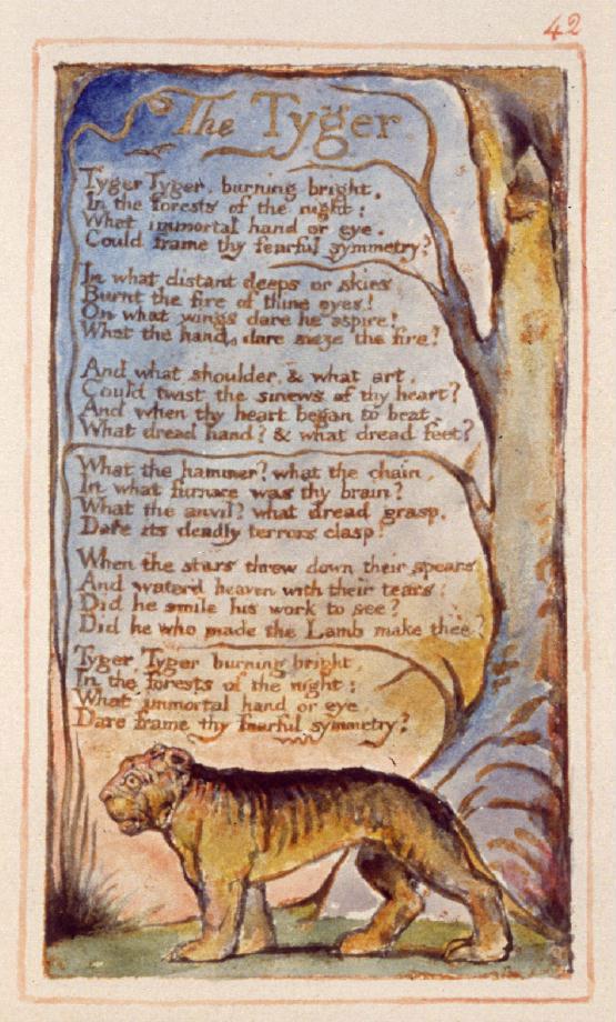 Blake: A Tigris, 1794