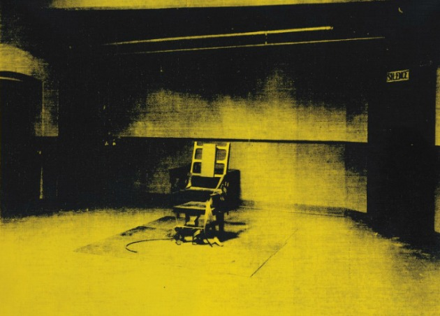 Andy Warhol: Little Electric Chair, 1965