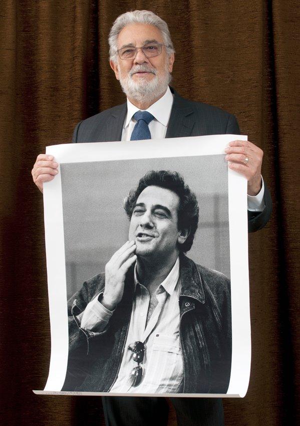 Placido Domingo 1986-ban és 2014-ben (Fotó: Szigeti Tamás)