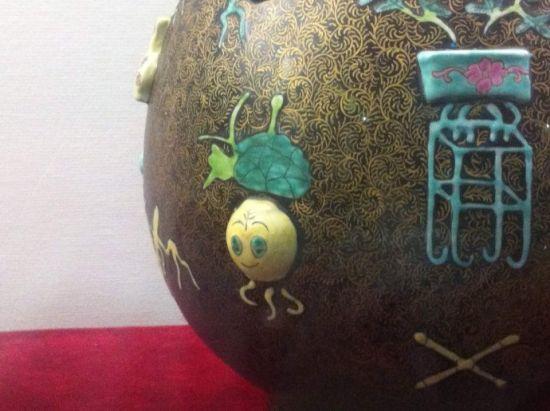 A hamisított rajfilmes váza (Fotó: english.cri.cn)