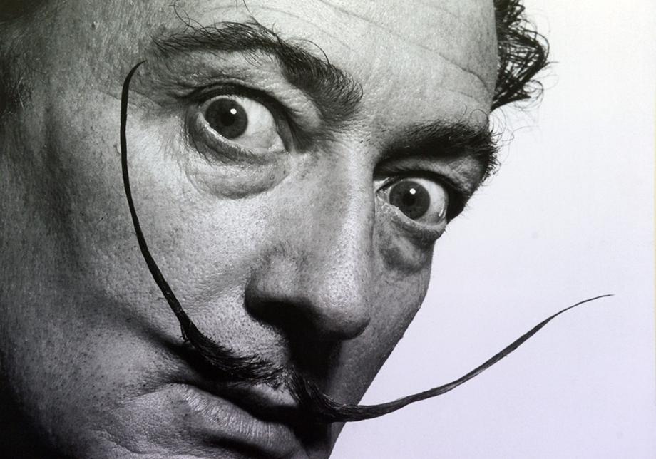 Salvador Dalí (fotó: hvg.hu)