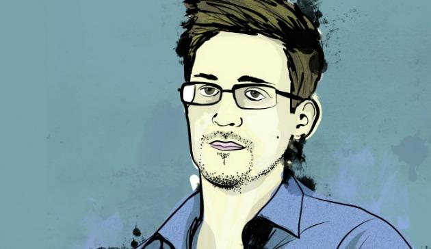 Edward Snowden a képregényben (Fotó: pcworld.hu)