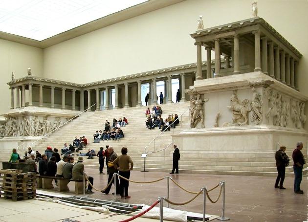 A Pergamon oltár (Fotó: en.wikipedia.org)