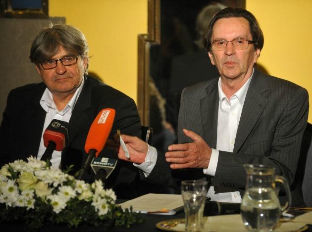 Dörner György és Kerényi Imre (Fotó: Nagy Zoltán)