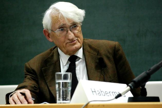 Jürgen Habermas (Fotó: en.wikipedia.org)