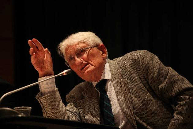 Jürgen Habermas (Fotó: Marion Kalter © Goethe-Institut)