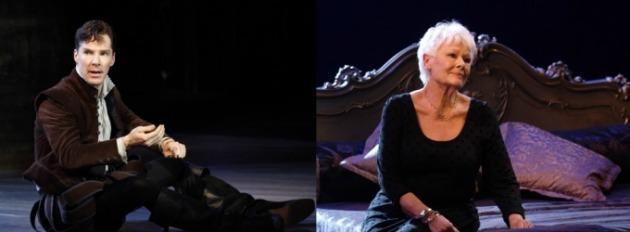 Benedict Cumberbatch és Judi Dench (Fotó: broadwayworld.com)