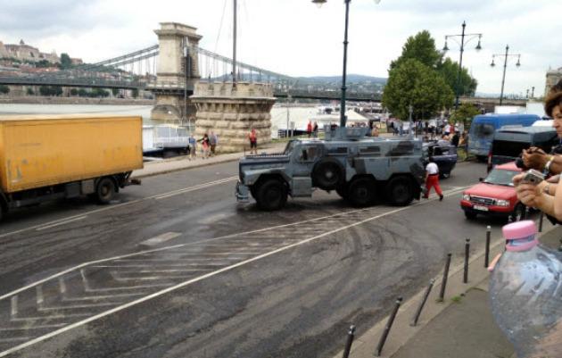 A Good Day to Die Hard forgatása Budapesten