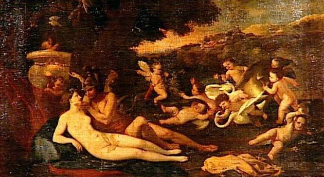 Poussin: Mars és Vénusz