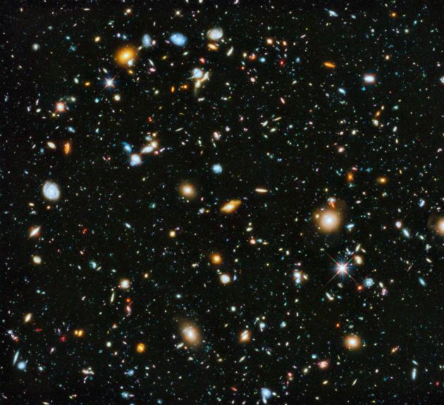 Kompozit felvétel a Hubble kilencévnyi megfigyeléséből (Fotó: Hirado.hu/NASA/ESA)