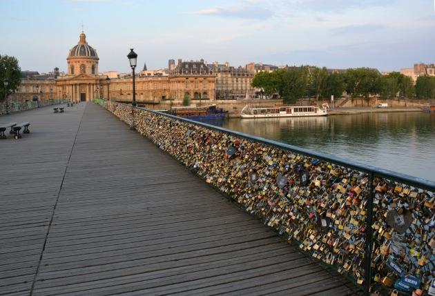 Pont des Arts (Fotó: michellegable.com)