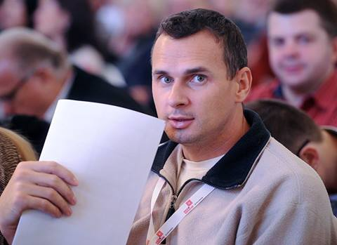 Oleg Sentsov (Fotó: rbcasting.com)