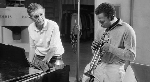 Gil Evans és Miles Davis (Fotó: mao.hu)