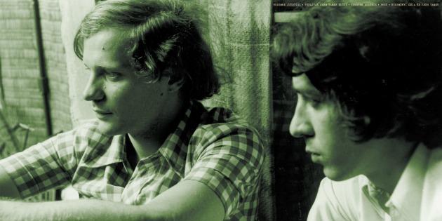 Bereményi Géza és Cseh Tamás a 70-es években