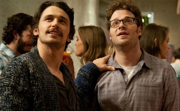 James Franco és Seth Rogen (Fotó: movies.mxdwn.com)