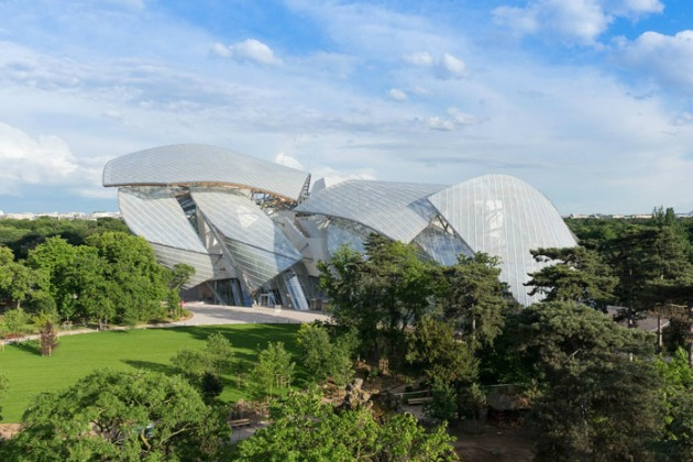 The Louis Vuitton Foundation for Creation - Bois de Boulogne (Fotó: Iwan Baan)