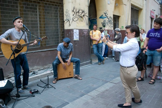 Síp utca 7. - Gettódalok (Fotó: Csoszó Gabriella)