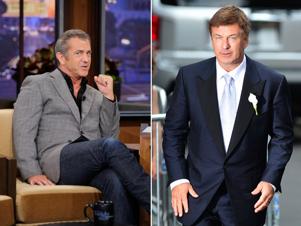 Mel Gibson és Alec Baldwin (Fotó: 0code.net)