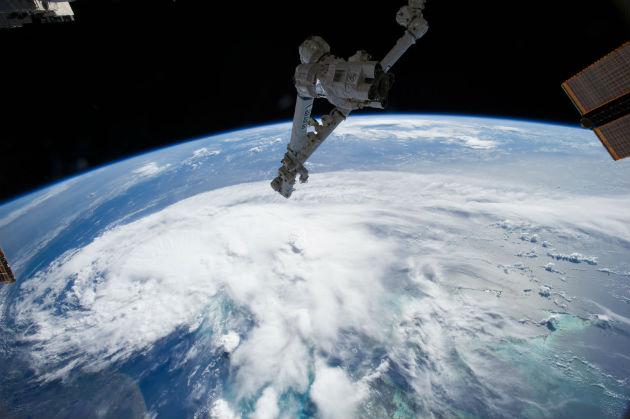 Az Arthur az ISS-ről (fotó: hirado.hu/NASA)