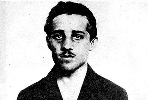 Gavrilo Princip (fotó: oelder-anzeiger.de)