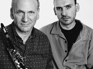 David Liebman és Fekete-Kovács Kornél (Fotó: mao.hu)