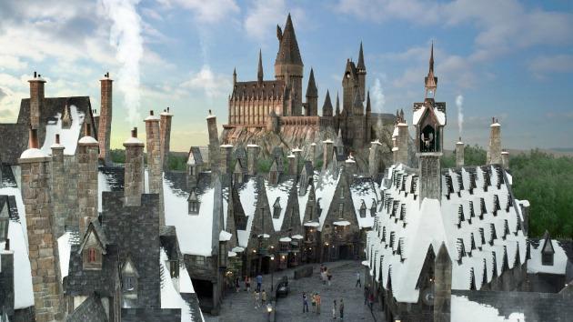 A Harry Potter park látványterve (Forrás: orlandoattractions.com)