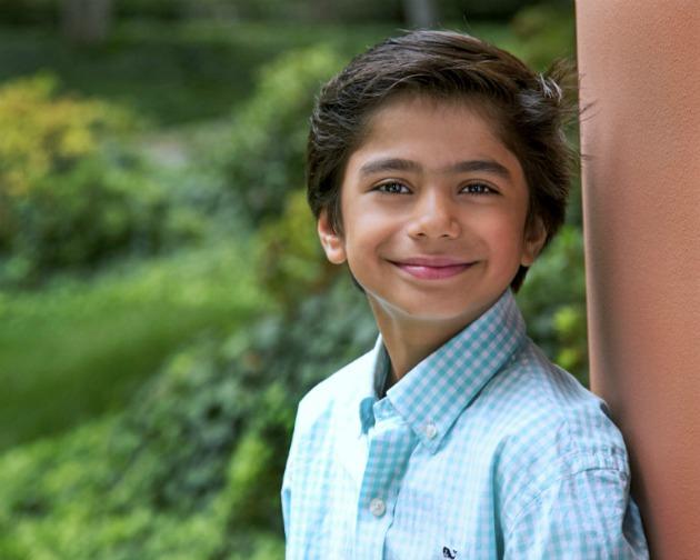 Neel Sethi, A dzsungel könyve új feldolgozásának főszereplője (Fotó: flicksandbits.com)