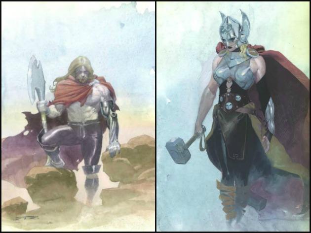 Thor átalakul (Fotó: dnaindia.com)