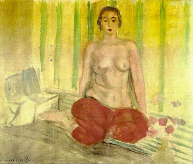 Henri Matisse: Odaliszk piros nadrágban