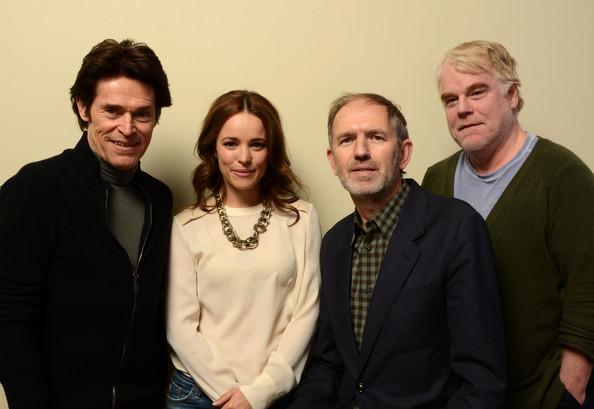 Willem Dafoe, Rachel McAdams, Anton Corbijn rendező és Philip Seymour Hoffman (Fotó: zimbio.com)