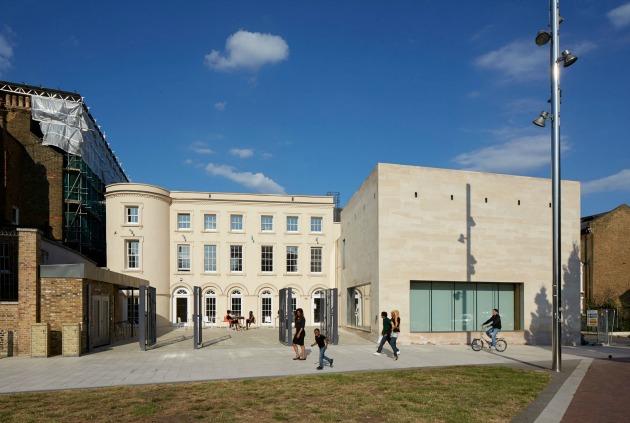 A Black Cultural Archives épülete Brixtonban (Fotó: gum.uk.com)