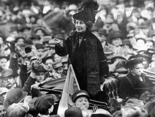 Emmeline Pankhurst (Fotó: en.wikipedia.org)