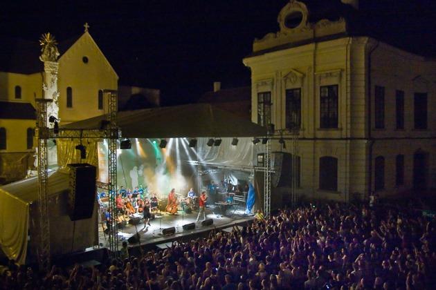 Punnany koncert a 2012-es Veszprémi Utcazene Fesztiválon (Fotó: Láng Győző)