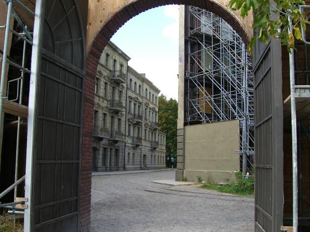 A régi berlini utca