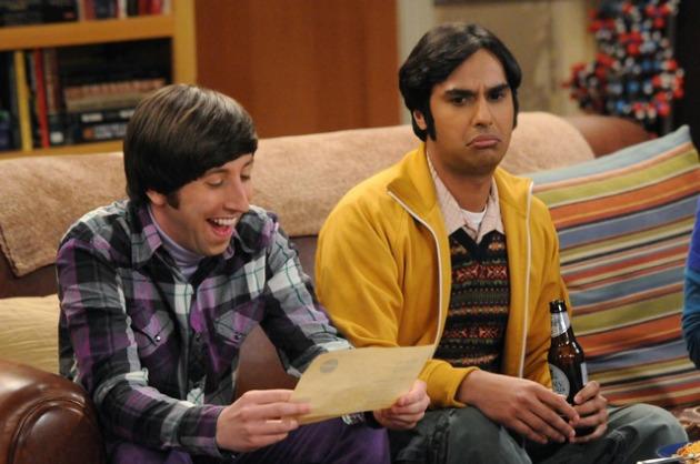 Simon Helberg és Kunal Nayyar a Big Bang Theory-ban (Fotó: beyondhollywood.com)