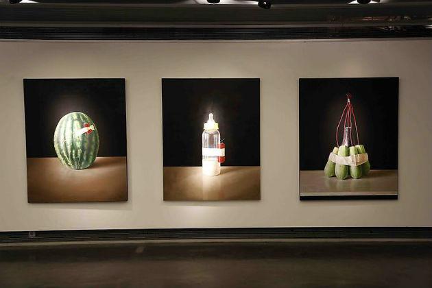 Othman Moussa művei (Fotó: ayyamgallery.com)