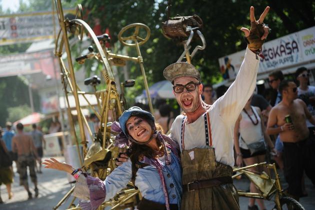 Idén is lesz cirkusz a Szigeten (Fotó: Sziget.hu)
