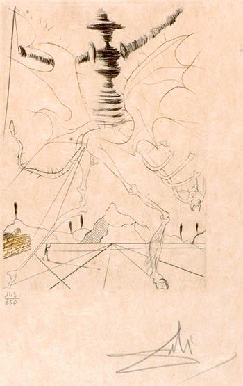 Az egyik megtalált Dalí-rajz (Forrás: hindustantimes.com)