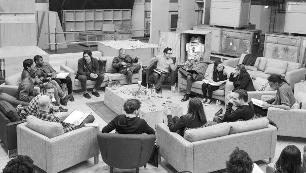 A Star Wars olvasópróbája (Fotó: thedisneyblog.com)