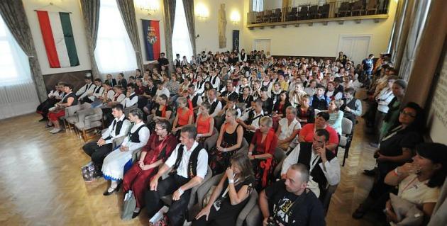A tavalyi találkozó résztvevői (Fotó: szekesfehervar.hu)