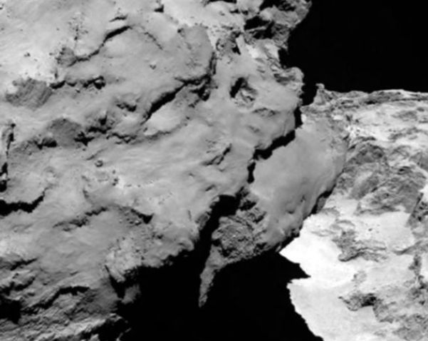 A 67P/Csurjumov–Geraszimenko-üstökös felszíne (http://www.urvilag.hu)