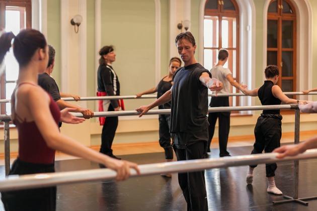 Próbál a Sopron Balett (Fotó: Torma Sándor)