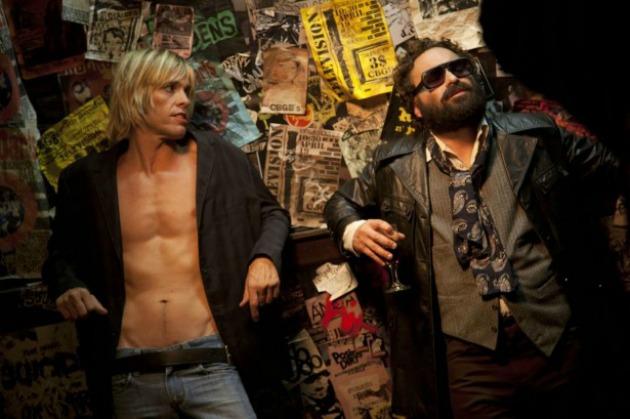 Taylor Hawkins a CBGB című Iggy Pop filmben (Fotó: nerdist.com)