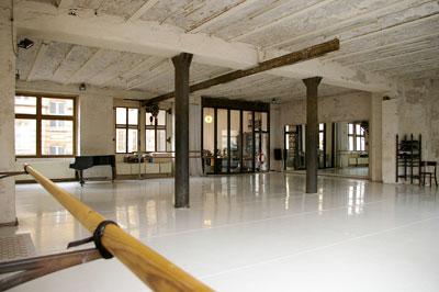 A táncfesztivál helyszíne (Fotó: dock11-berlin.de)