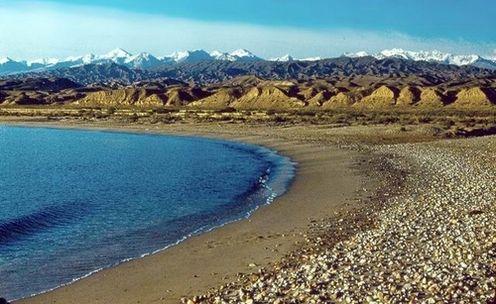 Az Iszik-köl tó (Fotó: alfahir.hu)