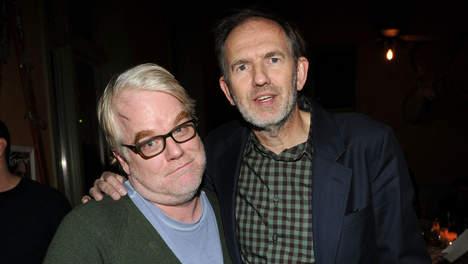 Hoffman és Corbijn (fotó: parool.nl)