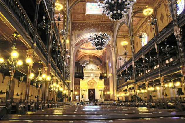 A Dohány utcai zsinagóga (Fotó: budapest.varosom.hu)